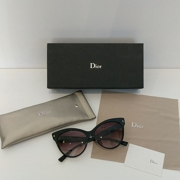 Christian Dior Black Les Marquises Cat Eye Sunnies